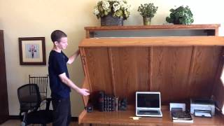 Disappearing Desk Bed -  Wilding Wallbeds