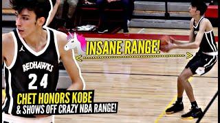 7' Unicorn Chet Holmgren Pays Homage To Kobe & Shows Off CRAZY NBA Range!! Minnehaha Is TOO GOOD