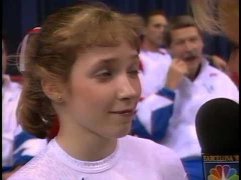 Kim Zmeskal - Interview - 1992 McDonalds American Cup