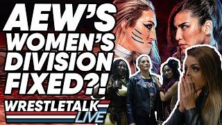 AEW Women's Division FIXED?! AEW Dynamite Dec. 4, 2019 Review   WrestleTalk Live