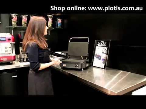 Silex Grills - Silex Kitchen Genius Grill Demonstration