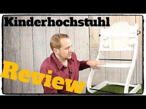 ❌GUTER KINDER HOCHSTUHL AUS HOLZ von BOMI (TEST) ab ca. 6 Monaten bis 10 Jahre