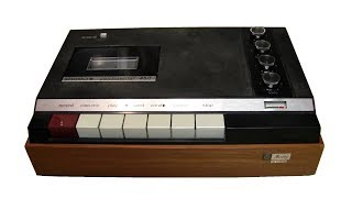 The first stereo cassette recorder - 1966 Philips EL3312 / Norelco 450