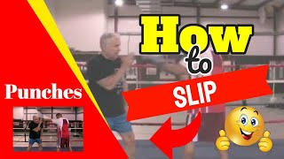boxing how to slip punches