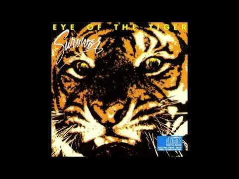 Kaikki tietää eye of the tigerin. Mutta survivorin paras biisi