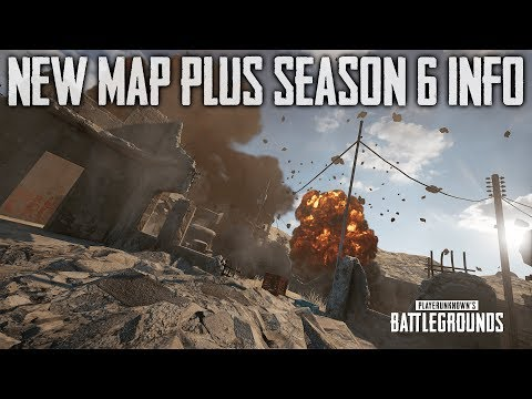 PUBG New Map and Season 6 Info (Playerunknown's Battlegrounds)