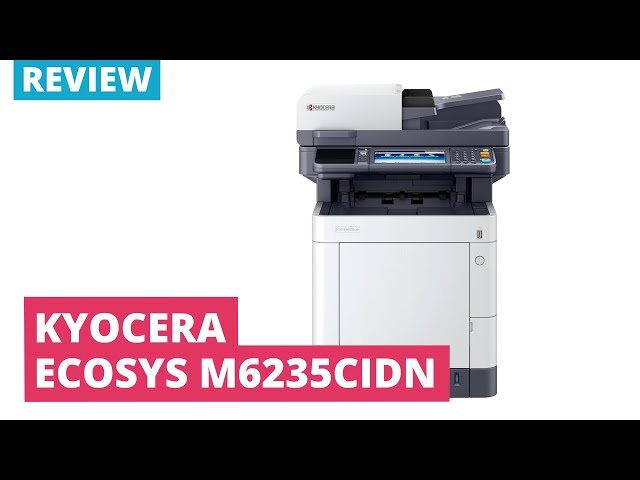 Kyocera ECOSYS M6235cidn A4 Colour Multifunction Laser Printer