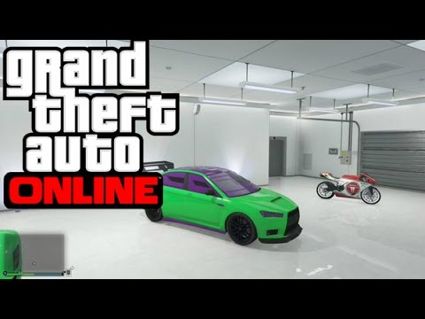Let's Play GTA V Online (GTA 5) - EP8 -Teenage Mutant Ninja Turtle Car!!!!