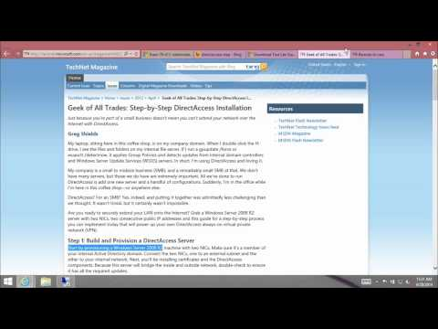 2 - Exam 70-410 Administering Windows Server 2012 - YouTube