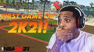 My First MyPark Game On NBA 2K21... What happened Here Hasn't Happen To Anyone