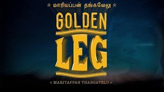 Cholindiyam | Golden Leg- Paralympic Tamilan | Tribute to Maariyappan Thangavelu