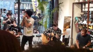 All Time Low - Time Bomb (Acoustic)