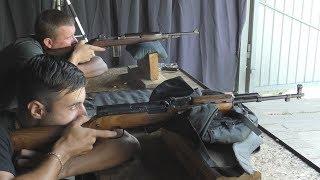СКС-45 против Винчестера M1 Carbine. Американский 7.62х33мм против советского 7.62х39мм