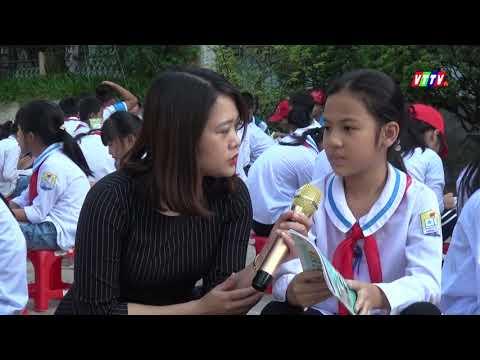 Trường tiểu học Minh Lãng khởi dậy văn hóa đọc trong học sinh