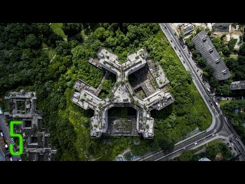 Video 5 Amazing Abandoned Places on Google Earth