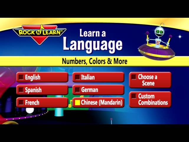 Learn a Language: Numbers, Colors & More