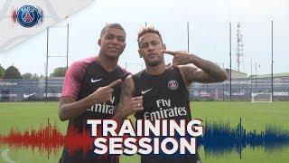 TRAINING SESSION with Mbappé, Neymar Jr