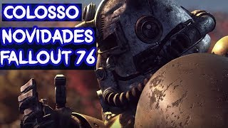 Esse jogo vai surpreender! - Novidades Fallout 76 - Colosso Notícias #11