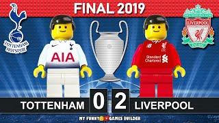 Champions League Final 2019 🏆 Tottenham Vs Liverpool 0-2 •All Goals Highlights LEGO Football Film