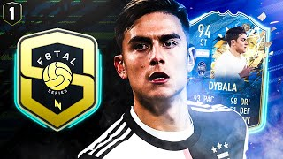 IT'S HERE! F8TAL TOTSSF DYBALA! FIFA 20 ULTIMATE TEAM #01