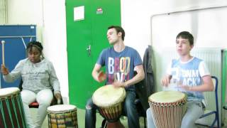 L'atelier Percussion à Cron