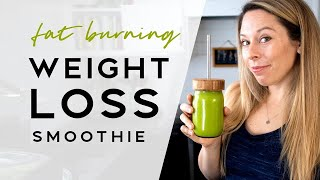 Fat-Burning Green Smoothie For Weight Loss