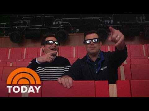 Sneak Preview Of Jimmy Fallon's Race Through New York Thrill Ride | TODAY