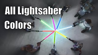All Lightsaber Colors