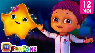 Twinkle Twinkle Little Star & Friends | Popular 3D Nursery Rhymes Collection by ChuChu TV Funzone