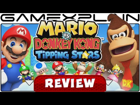 Mario vs Donkey Kong: Tipping Stars - Video Review (Wii U & 3DS) - YouTube video thumbnail