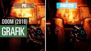 Doom (2016): Grafikvergleich mit der Switch-Version