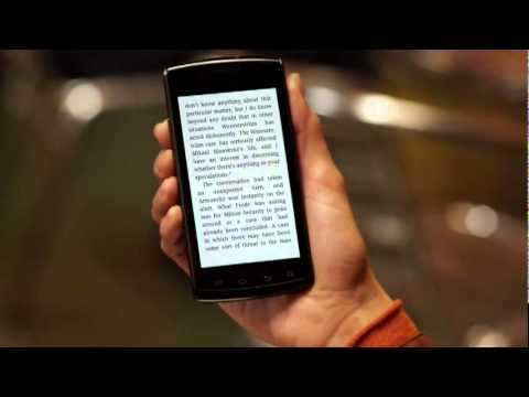 Amazon Commercial for Amazon Kindle Apps (2011) (Television Commercial)