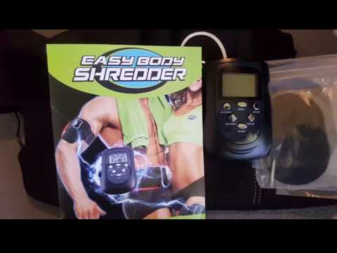 Easy Body Shredder Electric Toning Belt Review by Slick