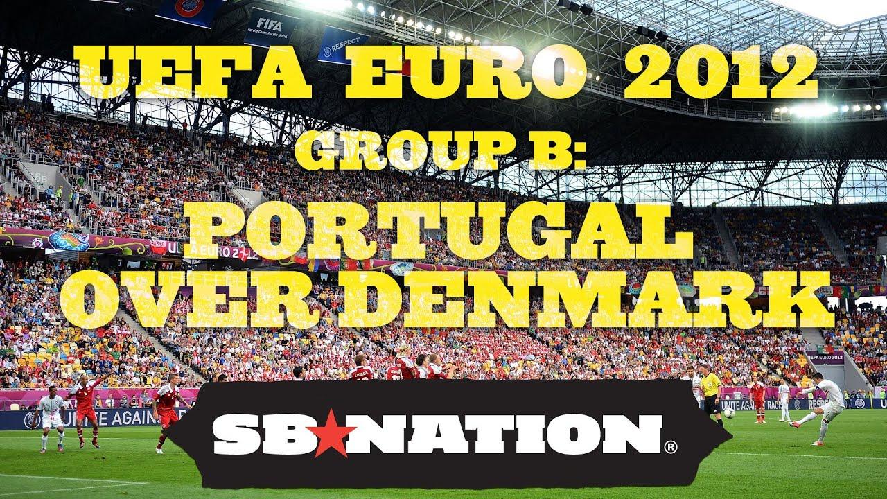 UEFA EURO 2012: Portugal over Denmark thumbnail