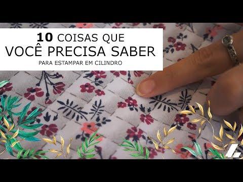 Imagem Video - 10 coisas que você precisa saber para estampar em cilindros