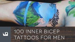 100 Inner Bicep Tattoos For Men