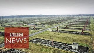 Auschwitz 70: Drone shows Nazi concentration camp (LONG VERSION)