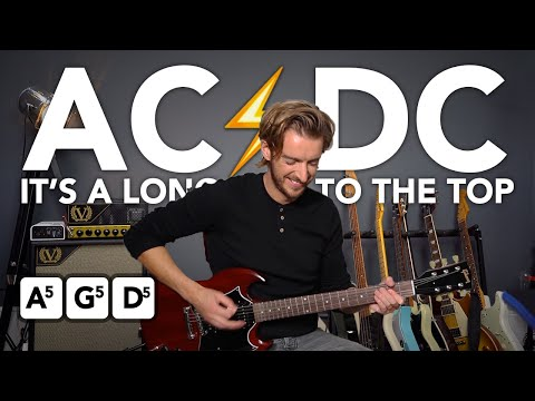 download lagu ac dc long way to the top guitar lesson tutorial easy ...