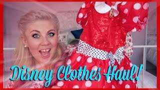 Baby Disney Clothes Haul!   SprinkleofGlitter