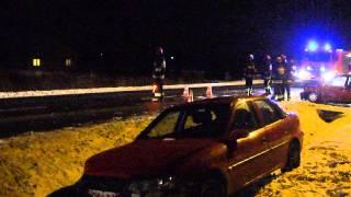 Wypadek na drodze wojewódzkiej nr 990 w Ustrobnej