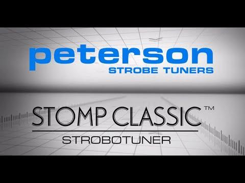 PETERSON Stomp Classic Pedálová ladička