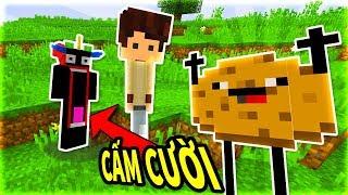 Minecraft THỬ THÁCH CẤM CƯỜI!!