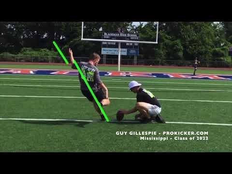 Guy Gillespie - Ray Guy Prokicker.com Kicker