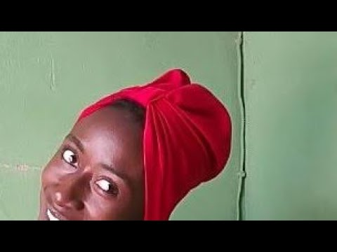 How to sew a twisted turban