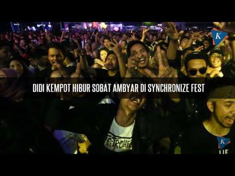 Didi Kempot Hibur Sobat Ambyar di Synchronize Fest