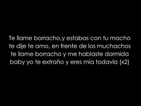 Jon Z, Darkiel - Te Llamé Borracho (LETRA/LYRICS)