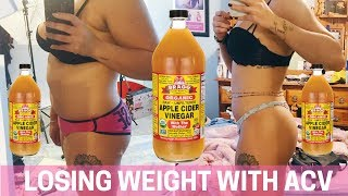 How I Lost Over 30 Pounds - Drinking Apple Cider Vinegar for Weight Loss | PAIGE MARIAH