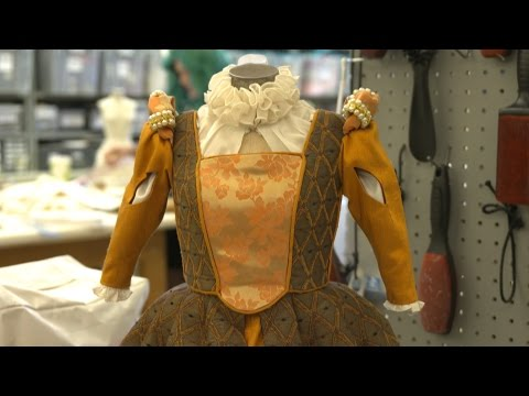 UM Theatre Class Creates Half-Scale Costumes