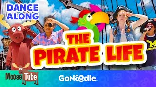 The Pirate Life - MooseTube | GoNoodle