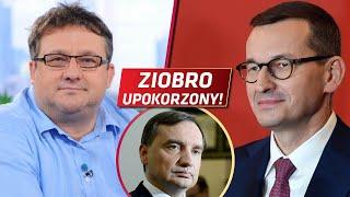 Ziobro UPOKORZONY, a Morawiecki JEST NIKIM! Surowa OCENA Mirosława Oczkosia!